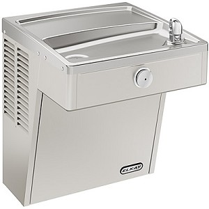 ELKAY LVRC8S Vandal Resistant ADA Filtered 8GPH Water Cooler (Refrigerated Drinking Fountain)