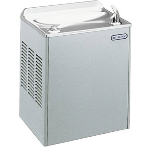 ELKAY LWCE8L1Z Filtered Compact Wall Mounted 8 GPH Water Cooler (Refrigerated Drinking Fountain) - DISCONTINUED AND SUBSTITUTED TO ELKAY EWCA8L1Z + EWF172