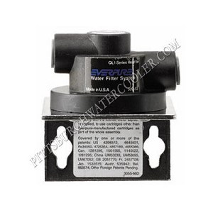 "Everpure EV9256-17 - QL1 Single Filter Head with 3/8"" Quick-Connect Fittings"