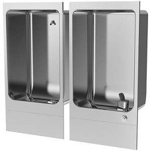 Sunroc DF-5551 Fully-Recessed Cuspidor and Drinking Fountain Combination