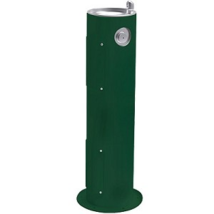 Halsey Taylor 4400 Endura II Tubular Pedestal Outdoor Drinking Fountain (Non-refrigerated)