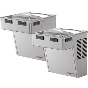 Halsey Taylor HAC8FS-BL-Q ADA Bi-Level Barrier Free 8 GPH Water Cooler (Refrigerated Drinking Fountain)
