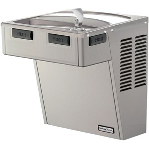 Halsey Taylor HAC8FS-WF-Q ADA Barrier Free 8 GPH Water Cooler with Filter (Refrigerated Drinking Fountain)