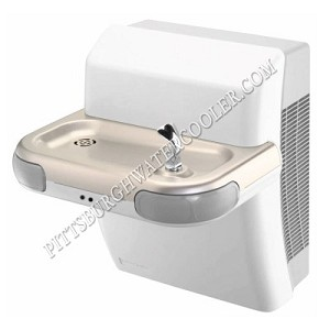 Halsey Taylor HTV-8-EE-Q-TTG Electronic Eye Barrier Free 8 GPH Water Cooler (Refrigerated Drinking Fountain)