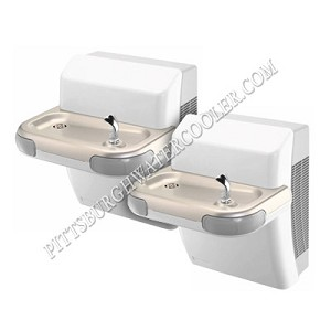 Halsey Taylor HTV-DBL-L/R-TTG Bi-Level Barrier Free Drinking Fountain (Non-refrigerated)