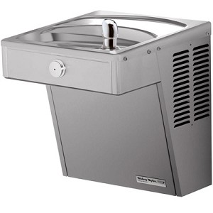 Halsey Taylor HVR8 FR Barrier Free 8 GPH Frost Resistant Vandal Resistant ADA Water Cooler (Refrigerated Drinking Fountain)