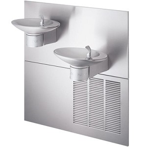Halsey Taylor OVL-II SER-Q Bi-Level Barrier Free 8 GPH Water Cooler (Refrigerated Drinking Fountain)