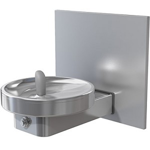 Oasis M140RFZ Barrier Free Frost Resistant RADII Modular Drinking Fountain (Non-refrigerated)