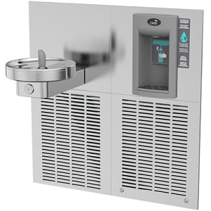 Oasis M8EBF Modular Barrier Free Electronic VersaFiller 8 GPH Water Cooler and Bottle Filling Station (Refrigerated Drinking Fountain)
