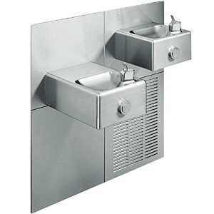 Oasis M8SCPM Bi-Level Barrier Free 8 GPH Modular Water Cooler (Refrigerated Drinking Fountain)