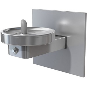 Sunroc DF-2011FR Barrier Free Frost Resistant RADII Modular Drinking Fountain (Non-refrigerated)