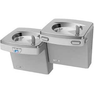Oasis P8ACSLEE Bi-Level Barrier Free 8 GPH Water Cooler with Electronic Eyes (Refrigerated Drinking Fountain)