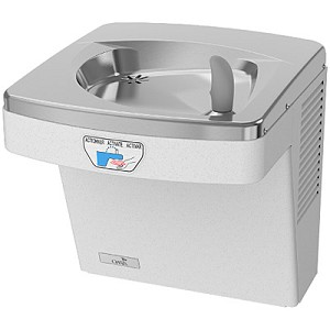 Oasis PF8ACEE Barrier Free 8 GPH Water Cooler with Electronic Eyes and Filter (Refrigerated Drinking Fountain)
