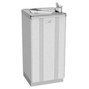 Oasis PLF13PL Free Standing Heavy Duty 13 GPH Water Cooler for Children (Refrigerated Drinking Fountain)
